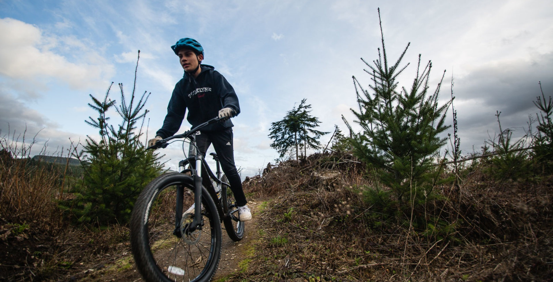 Bellingham's Galbraith Mountain offers no shortage of singletrack to explore, and something for everyone, first-timers to pros. Photo: Maggie Kaiserman