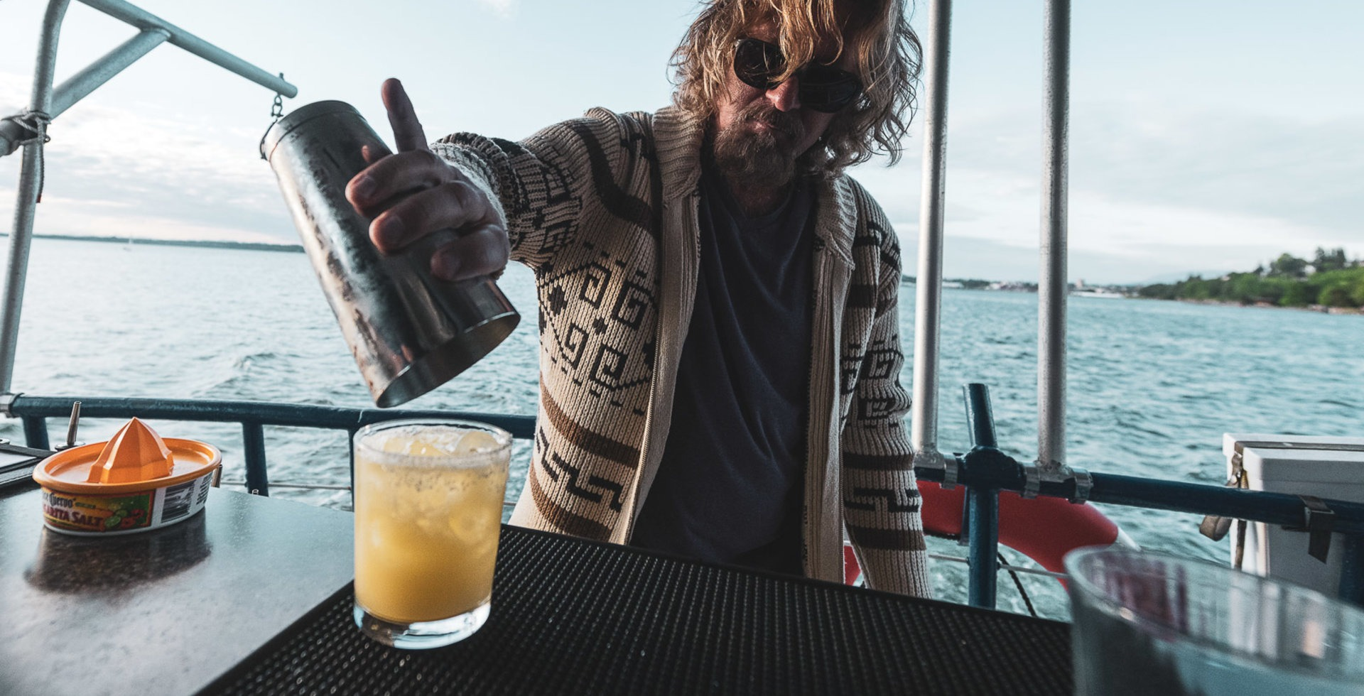 Wick, the purveyor of funk—and good cocktails. Photo: Paris Gore