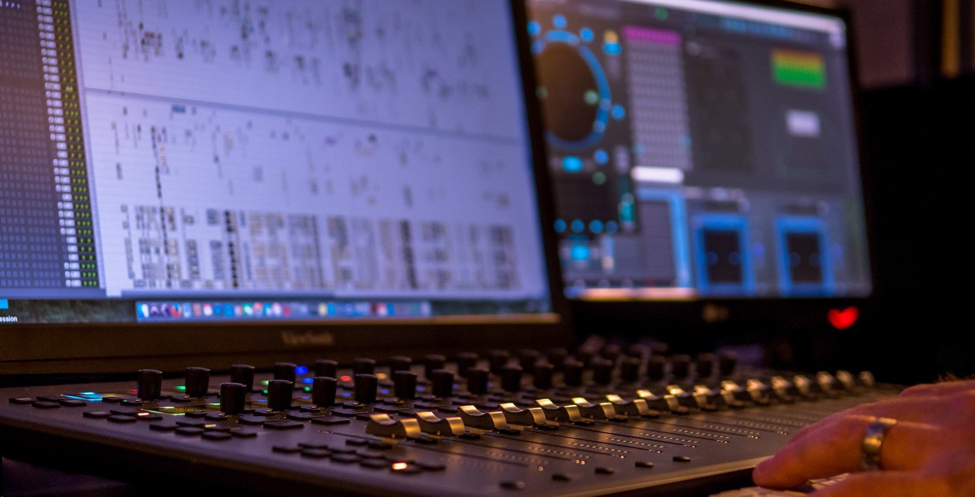 While individual adjustments of sound might be minor, collectively they give video a whole different feeling.